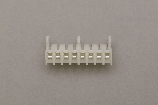 Female multipoint connector 8 pole 3,96mm grid